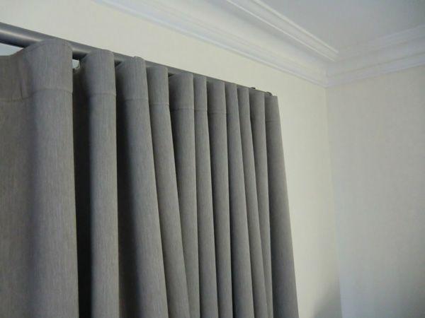 Mel interiores cortinados con todos los g neros y for Rieles para cortinas