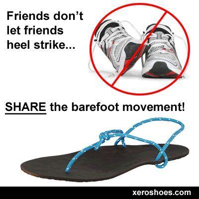 BE THE DESIGNATED MINIMALIST RUNNER. #xeroshoes #barefootrunning #barefootsandals #running #runningh...