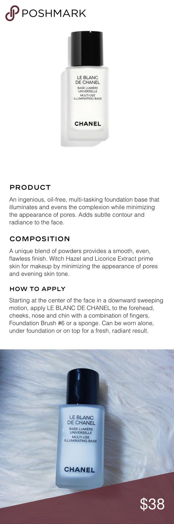 •chanel le blanc illuminating base primer• Makeup base