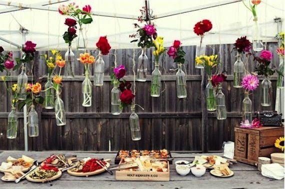 1000 images about dcoration buffet mariage anniversaire on pinterest - Cocktail Dinatoire Mariage