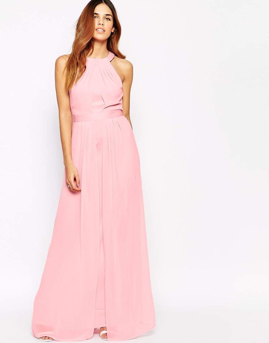 383073062395 Warehouse Cross Back Maxi Dress | Bridesmaids | Bridesmaid dresses ...