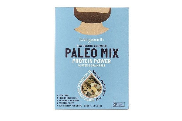 Loving Earth Paleo Protein Power Mix (320g) A hard-core protein blend with good fats, activated nuts & seeds, coconut chips & cacao nibs  #coconut #e #s #su #ec £7.99 #organic #natural #ecofriendly #sustainaable #sustainthefuture