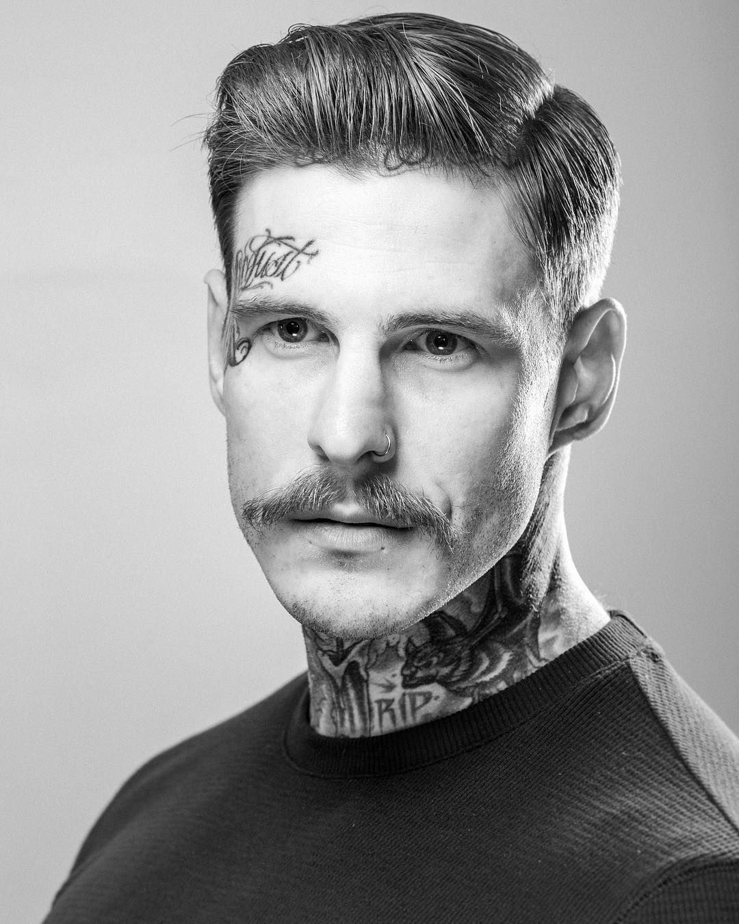 Fade haircut styles for white men  best mediumlength hairstyles for men in   tattoos