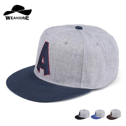 ff6394c6a7c 2017 Autumn New Flat Brim Snapback 6 panel grey hip hop hats Men Women  Adjustable Baseball Caps Cotton Casquette Bone Caps