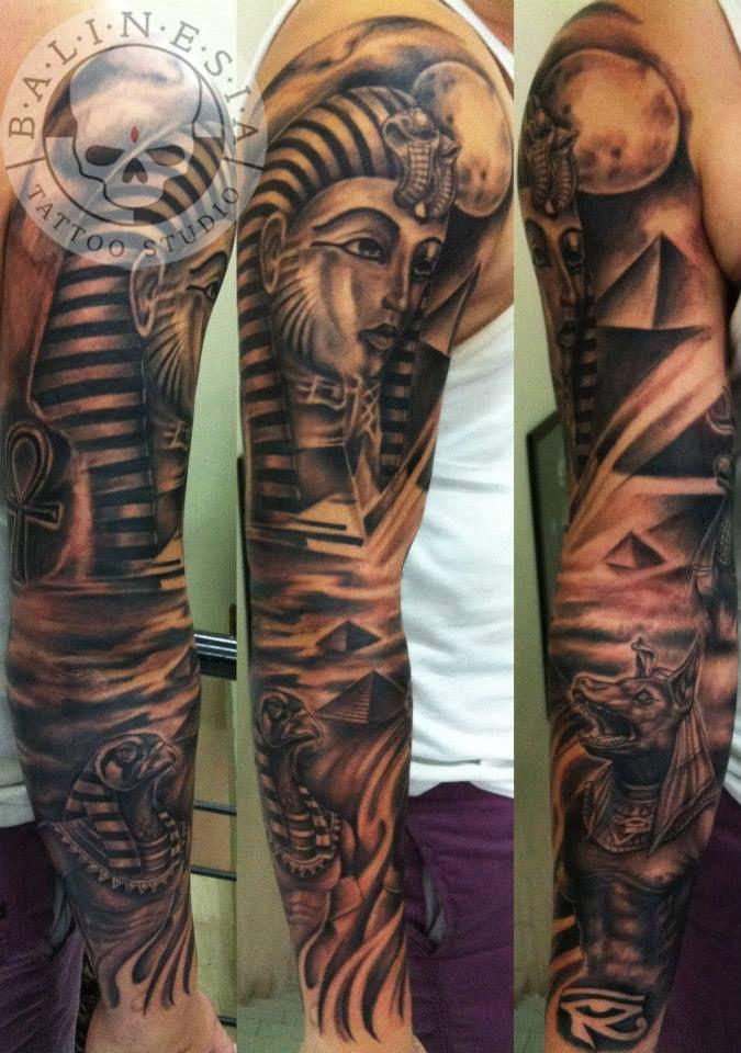 Egypt Theme Sleeve | Tattoos, Egyptian tattoo sleeve ...