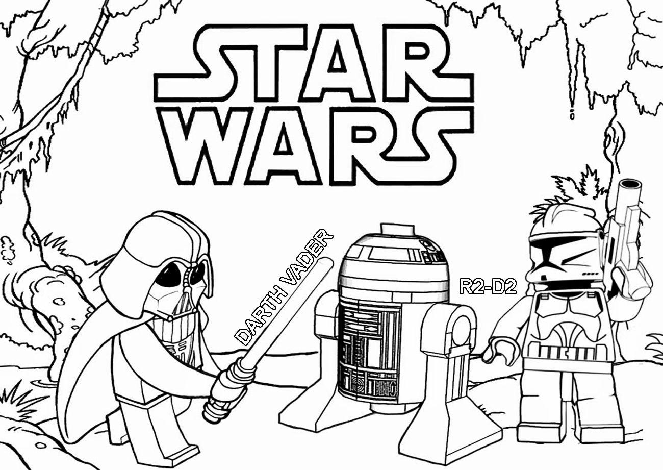 Malvorlagen Star Wars Gratis Darth Vader Chewbacca Star Wars