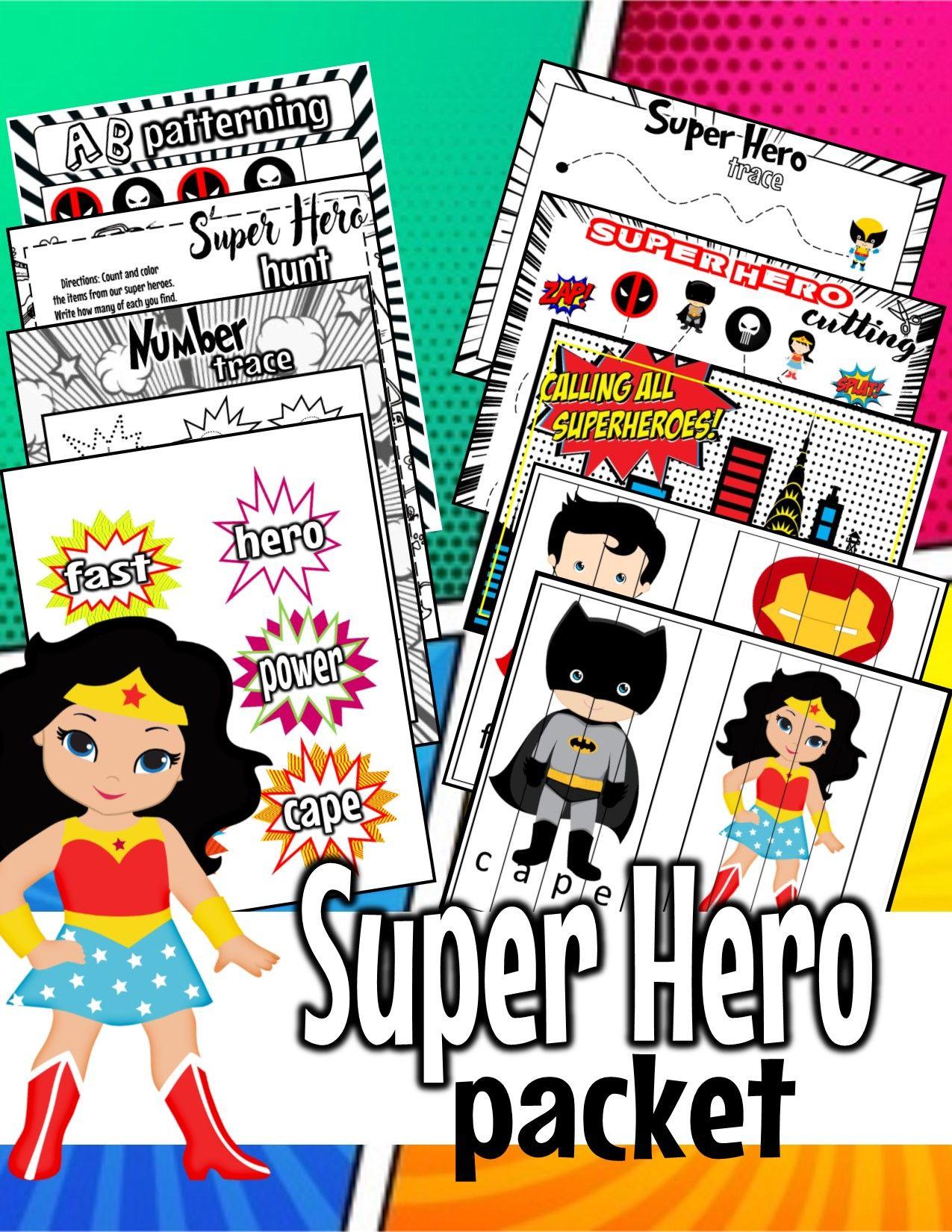 A Week Of Super Heroes