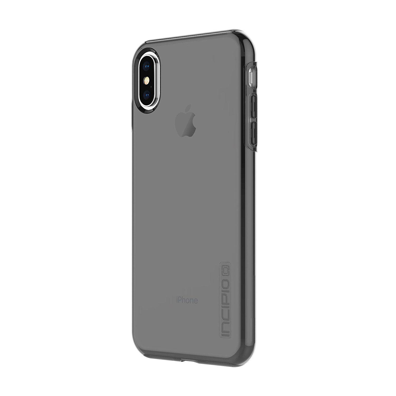 Incipio apple iphone x dualpro pure clear case smoke