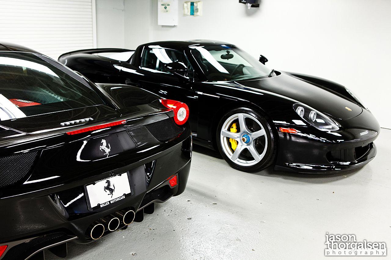 Ferrari porsche f458 italia carrera gt ferrari