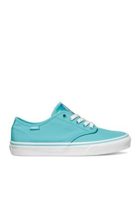 2e3db82264c6a4 Vans Women s Camden Stripe Neon Blue Sneakers - Neon Blue - 7.5M ...