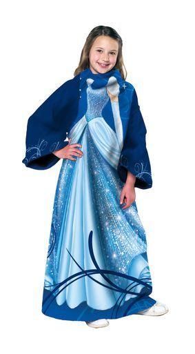 Cinderella - Being Cinderella (Juvenile) Fleece, Panel Print, Comfy Throw
