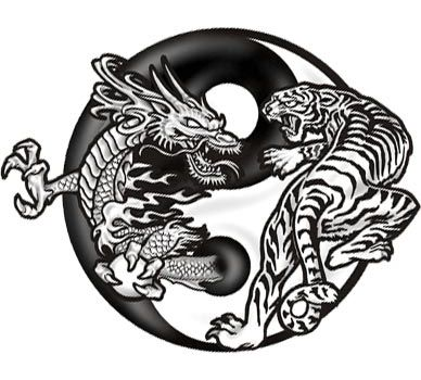 Awesome tiger and dragon yin yang tattoo idea | Tattoo | Pinterest ...