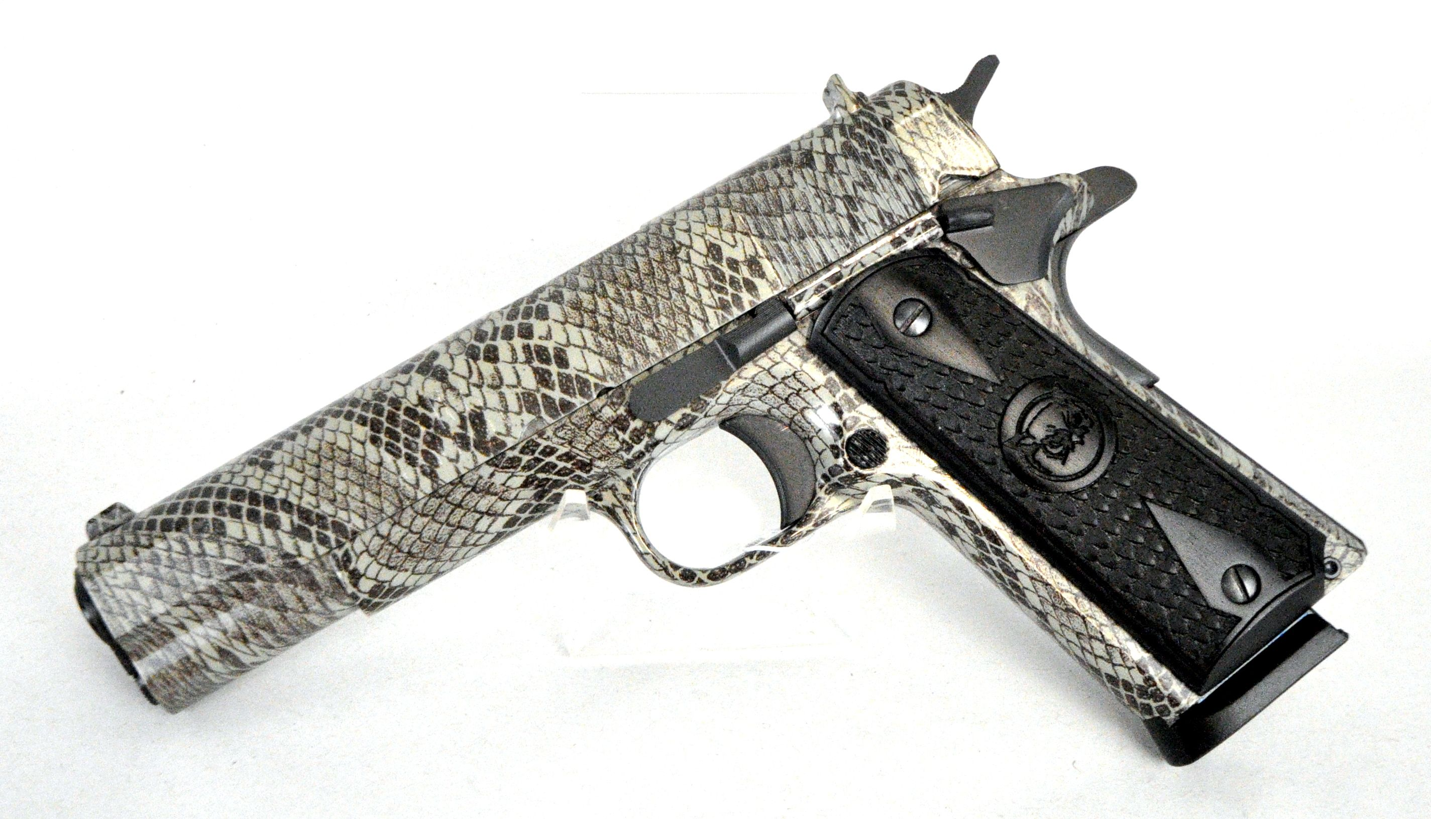 Iver Johnson 1911A1 Copperhead .45 ACP. A GI-style, Government-sized ...