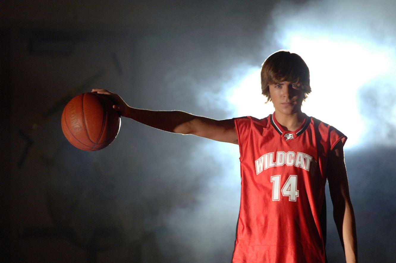 Zac Efron en High School Musical