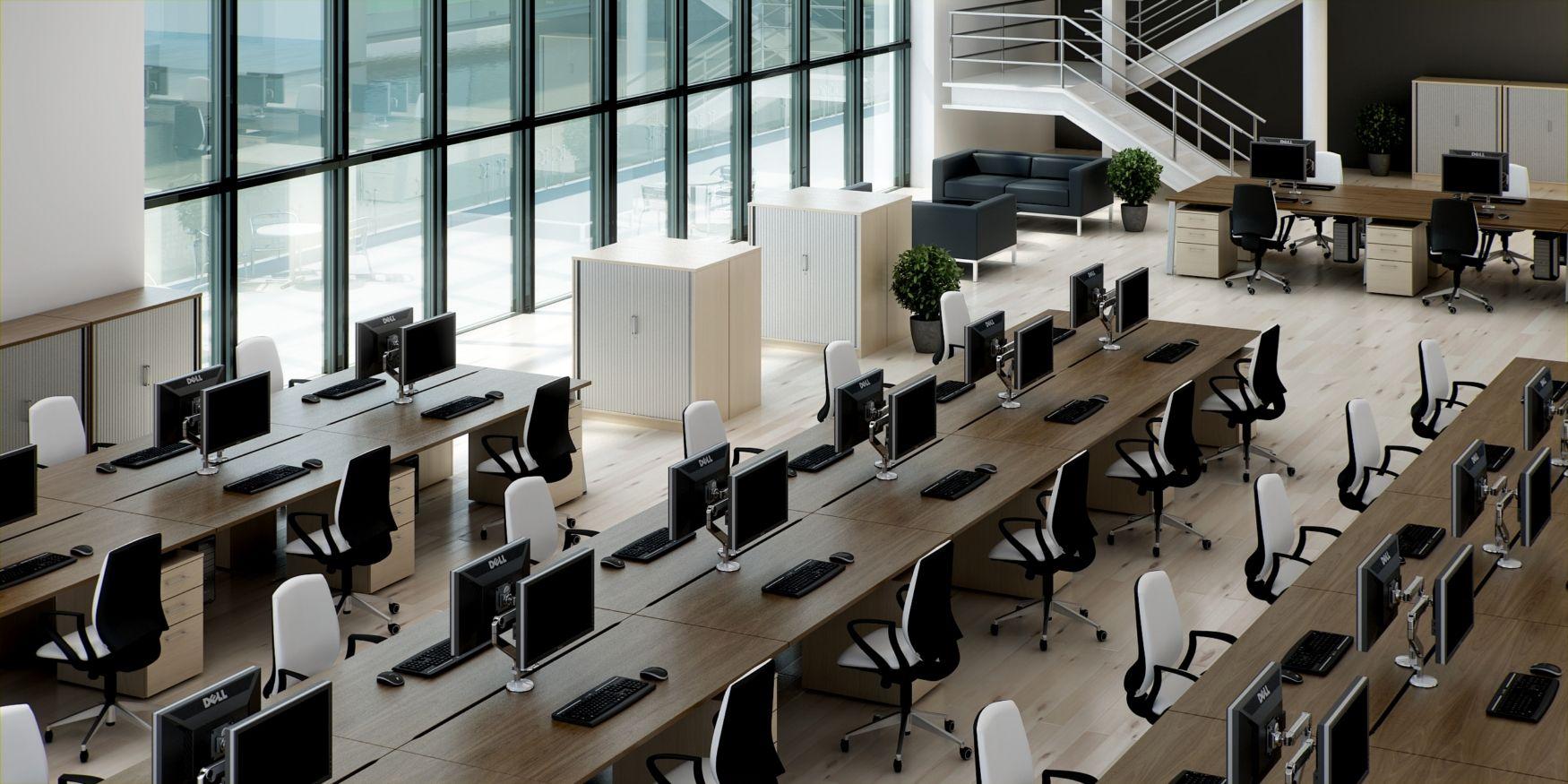 I Like The Desk Setup Furniture Workstation Office Furniture