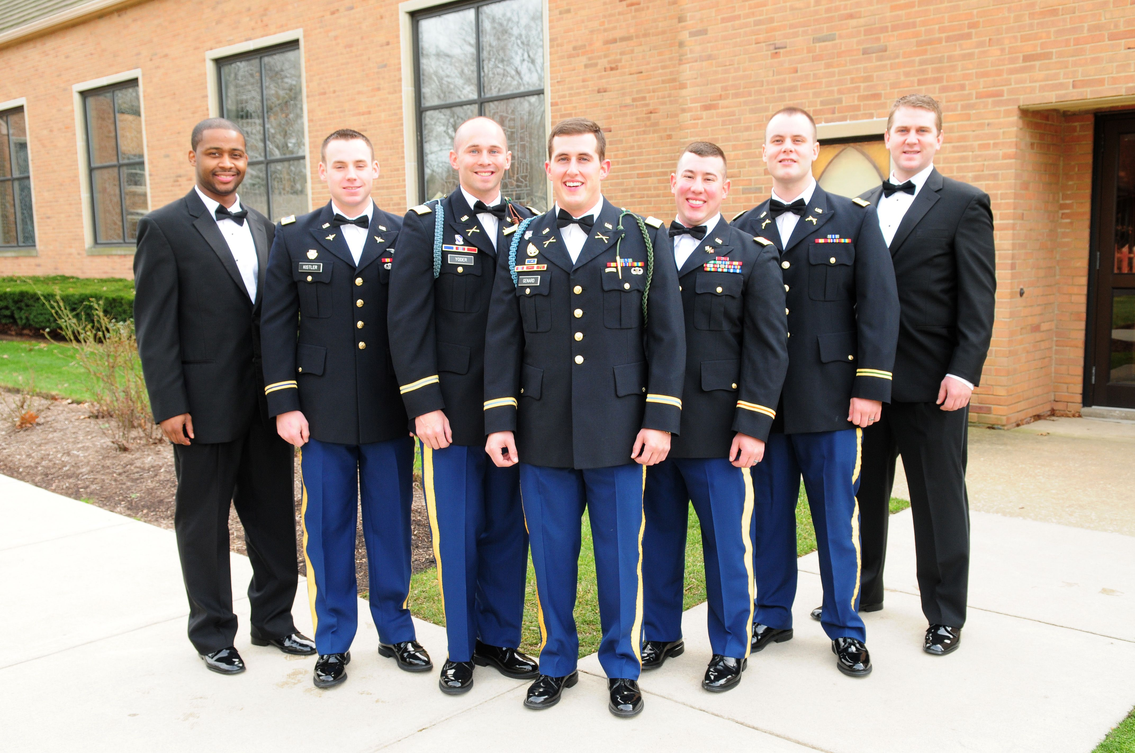 Ladies With Fiances In The Military Dress Blues Are Tailored To Fit Your Man A Tux That You Rent Is Not W Military Dress Blue Blue Dresses Groomsmen Looks [ 2848 x 4288 Pixel ]