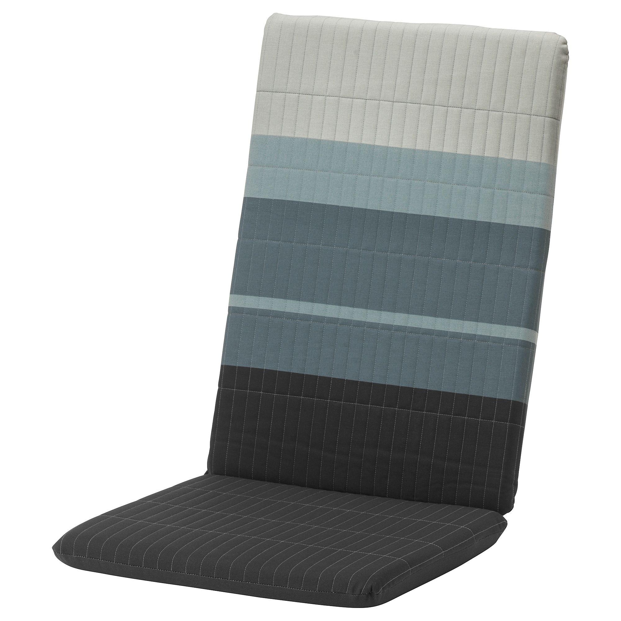 poÄng polster für sessel, lyskraft blau, grau | schlafzimmer ideen