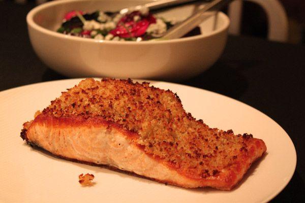 recipe: panko horseradish crusted salmon recipe [17]