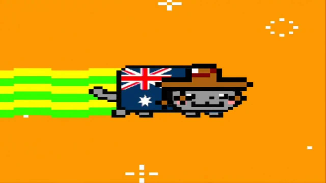 Nyan Cat Australia Nyan Cat Pinterest Cats And Nyan Cat