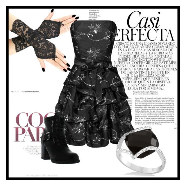"""""""Untitled #295"""" by elanorjoy ❤ liked on Polyvore featuring Dita Von Teese, Betani, Allurez and Whiteley"""