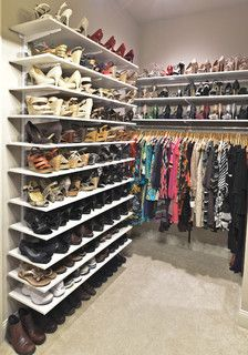 Unique Clutter Free Ways To Organize Shoes | Sabrinas Organizing