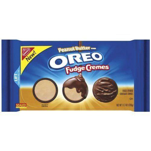 Oreo Peanut Butter Fudge Creme, 11.3-Ounce (Pack ($12.19 ...