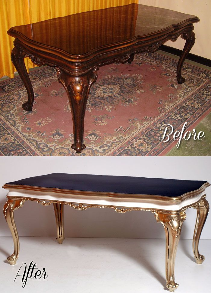 Restauro Decorazione Tavolo Barocco Laccatura E Doratura Before After Decorazioni Da Tavola Mobili Pittura Vecchi Mobili Ridipinti