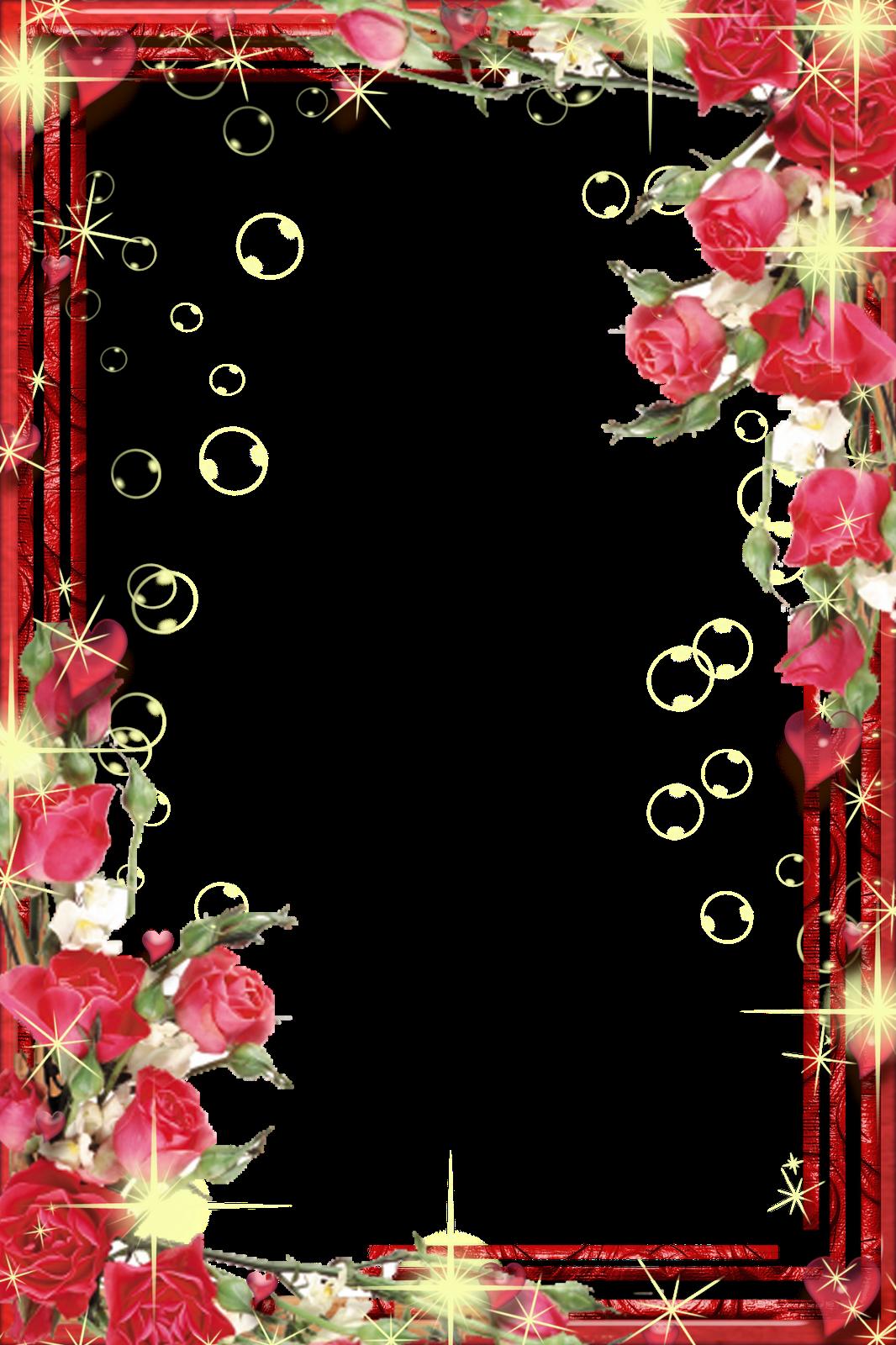 Рамка для поздравления официальная с цветами