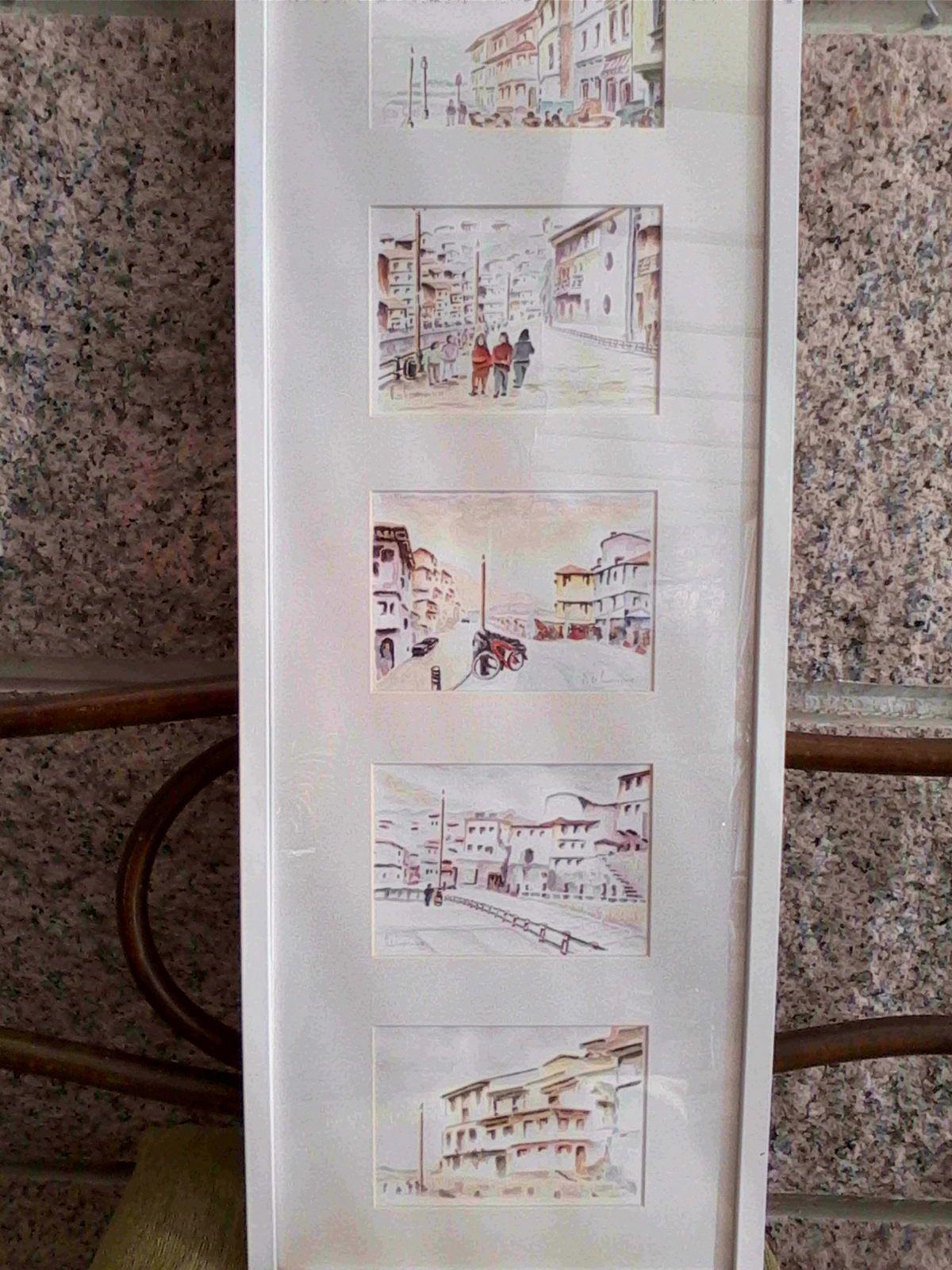Exposición en Cudillero en Agosto del 2010 - 5 temas en un marco de ...