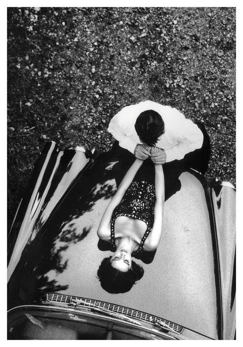 #Postcard #DominiqueIssermann Heather et Hervé #VogueParis Septembre 1993