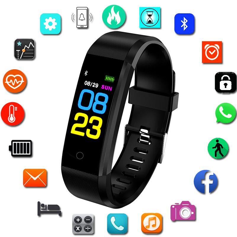 Children's Watches Sport Smart Watch Children Watches Kids For Girls Boys Wrist Clock Electronic Led Digital Child Wristwatch With Another Strap