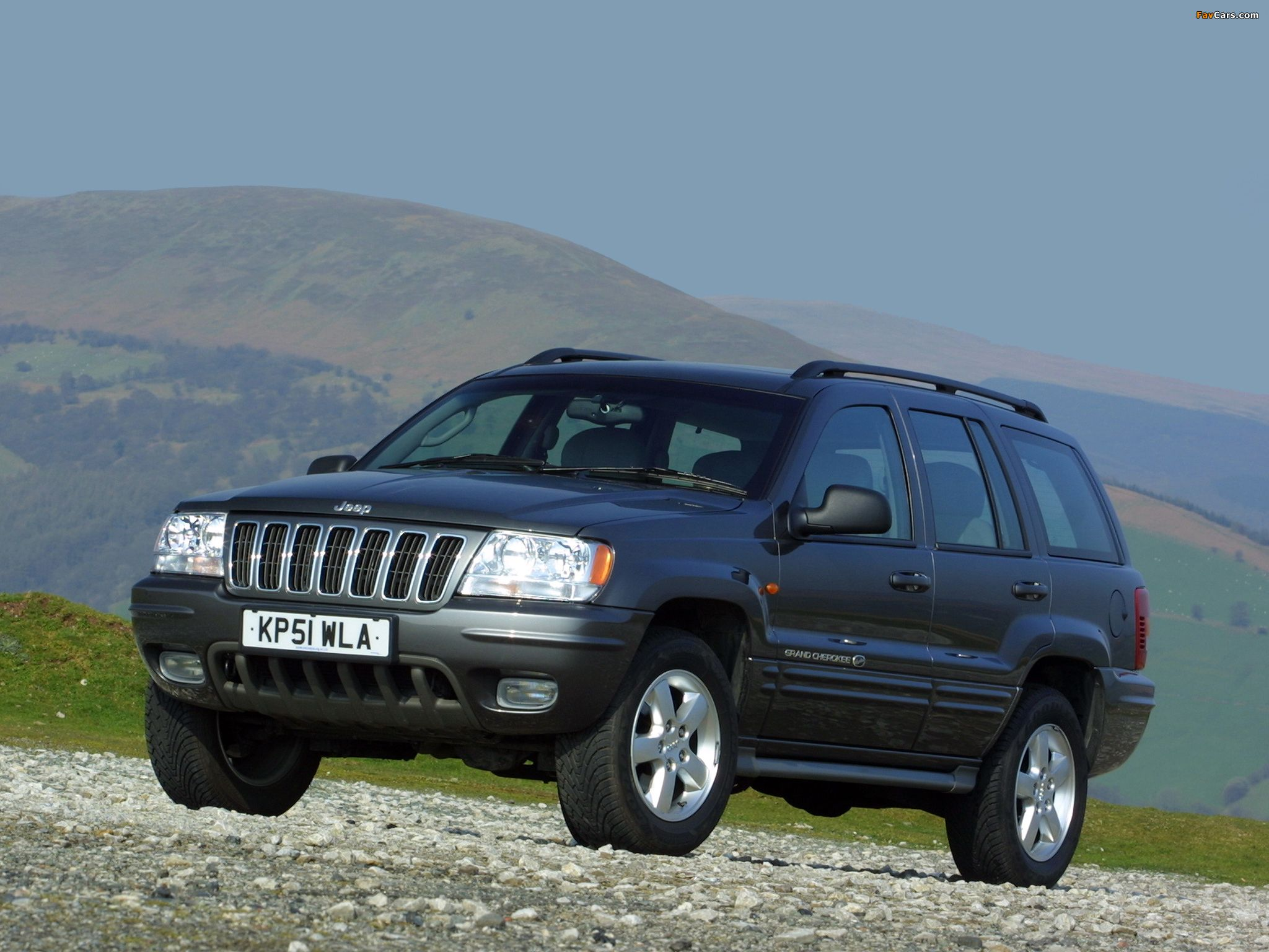 Photos of jeep grand cherokee overland uk spec wj 2001 03