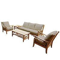 Teak Sofa Set 5 pc. - Sam's Club