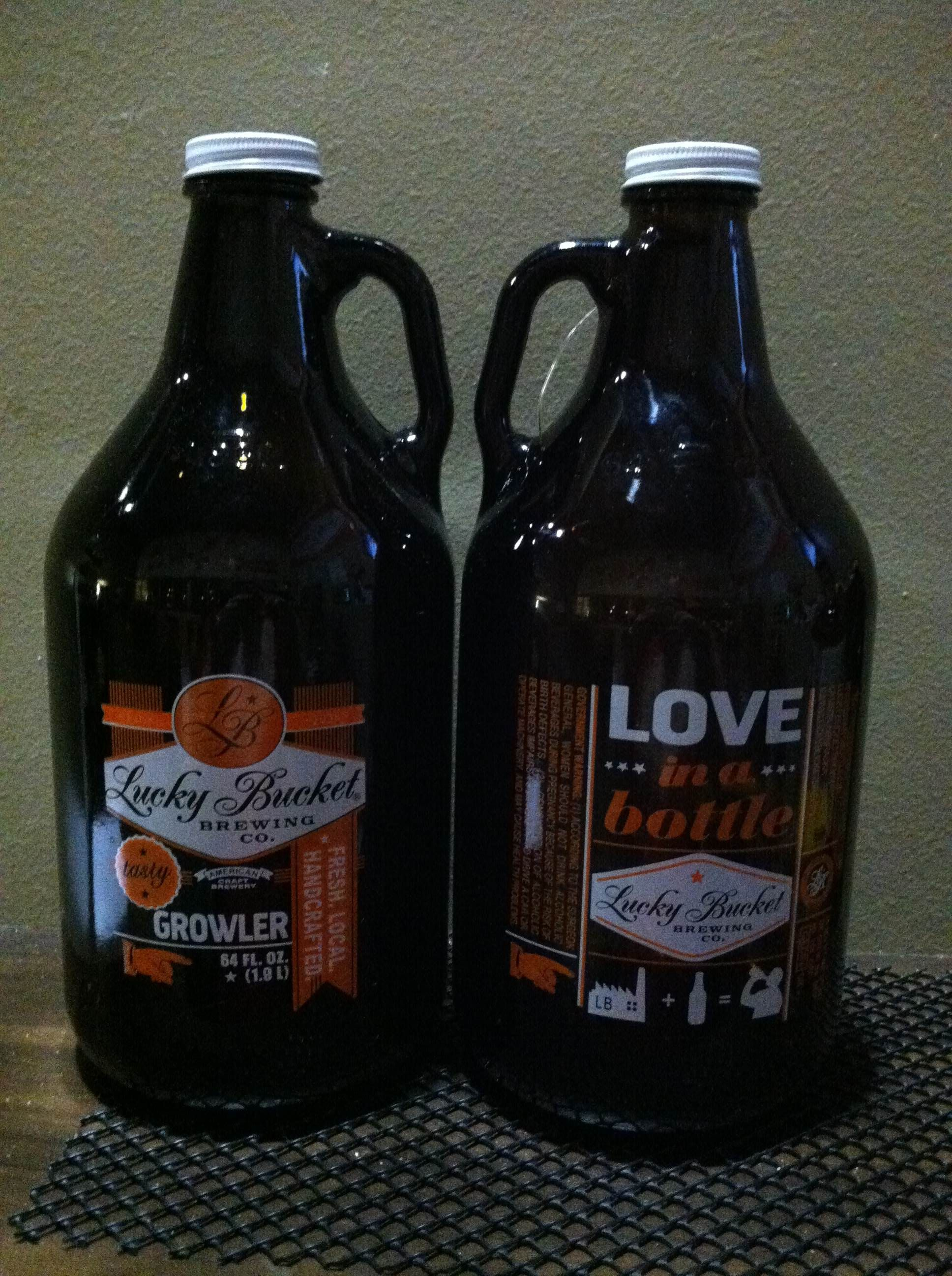 Lucky Bucket 1 2 Gallon Growler Craft Beer Beer Bottle Beer