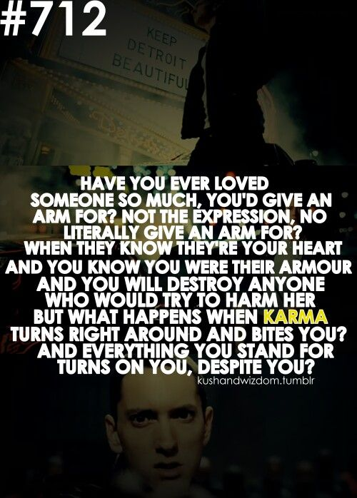 Have You Ever Loved Someone So Much Quotes : loved, someone, quotes, Loved, Someone, Much,, You'd, [...]', Eminem, #lyricart, Lyrics,, Quotes,, Songs