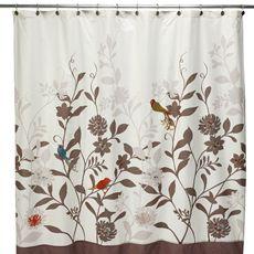 Daintree 72 X 72 Fabric Shower Curtain Fabric Shower Curtains