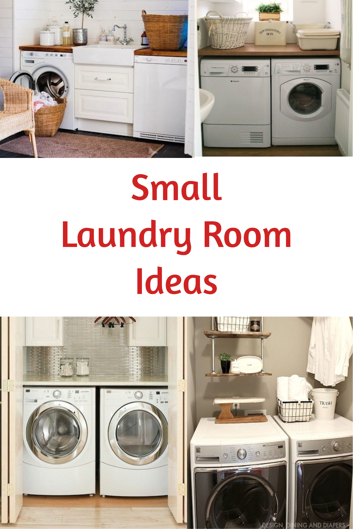 small laundry room ideas space saving diy creative ideas for tiny laundry rooms organizing. Black Bedroom Furniture Sets. Home Design Ideas