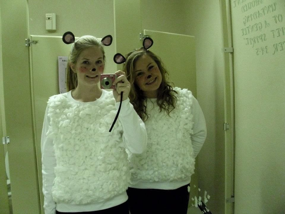 Easy Sheep Costumes Friend And