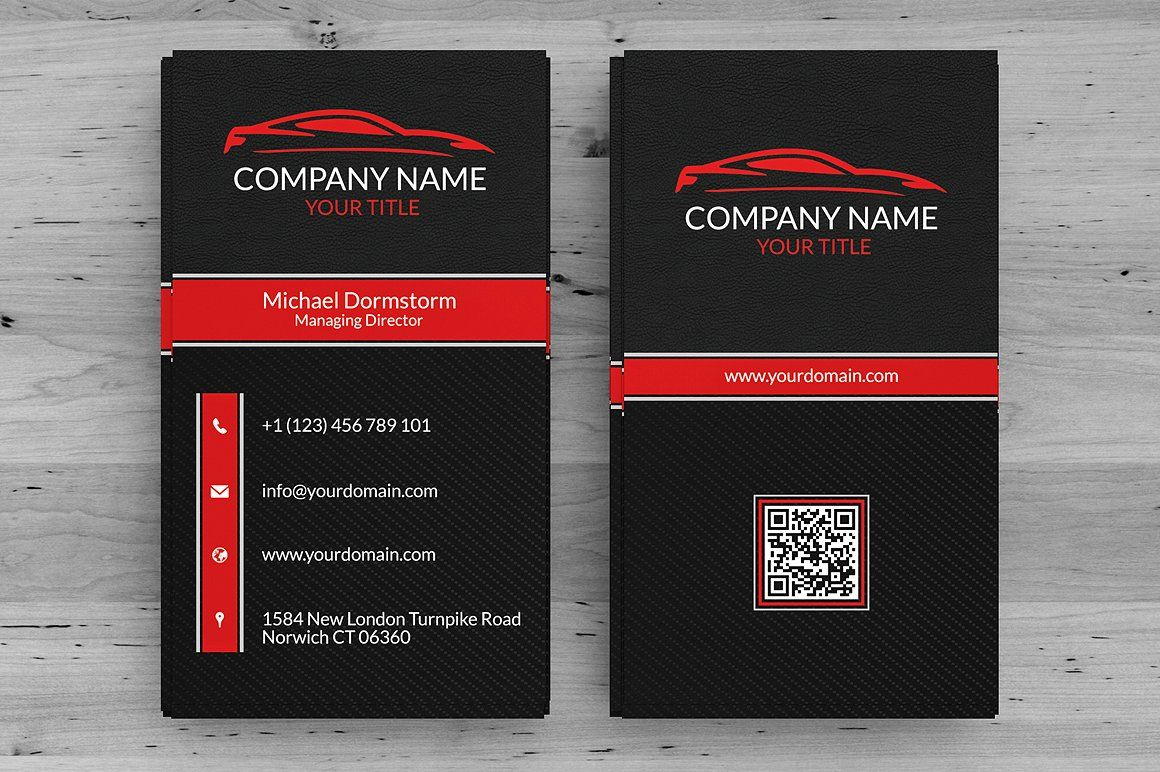Automotive Business Card | Business cards, Business and Car logos