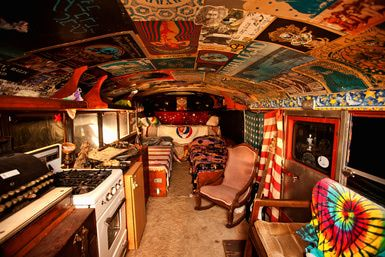 grateful dead tour bus - Google Search | Hippie Bus | Grateful dead
