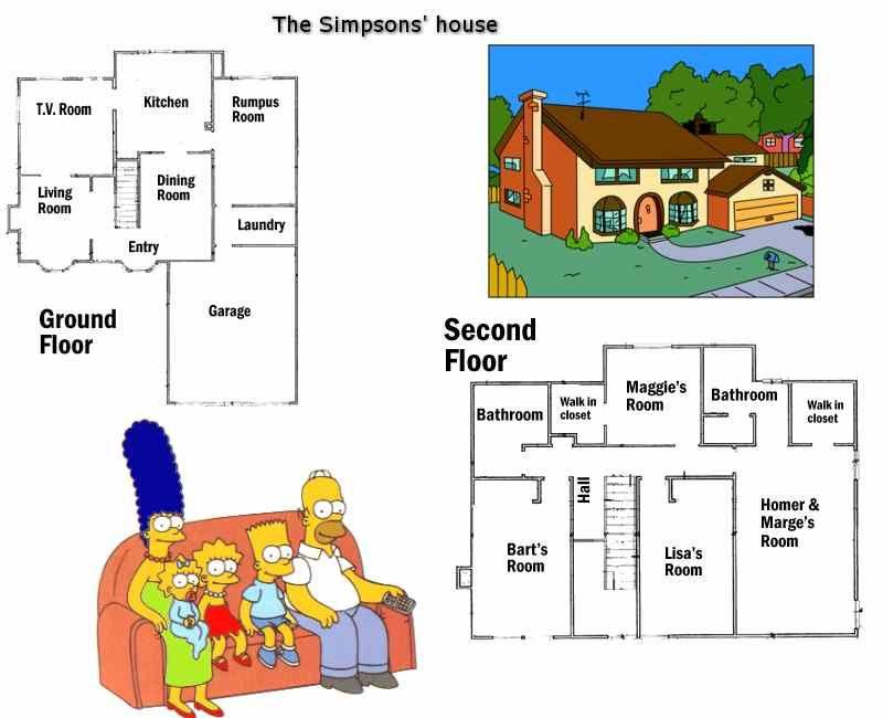House - Home - Garden - ESL Resources Teacher Stuff Pinterest - new house blueprint esl