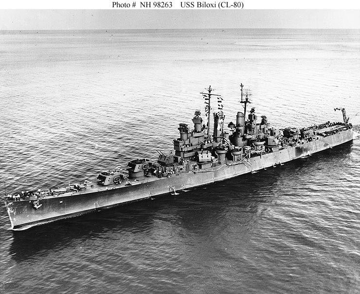 USS Biloxi (CL 80)