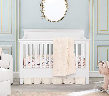 Larkin 4 In 1 Convertible Crib In 2020 Cribs Larkin