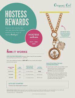 Partylocketsinthehousetonight.origamiowl.com Hostess rewards October-December