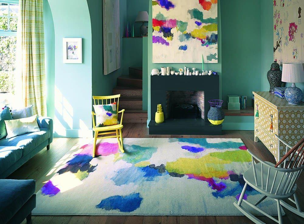 Bluebellgray Teppich Bluebellgray Design Teppich Nevis 19100 - schlafzimmer teppich