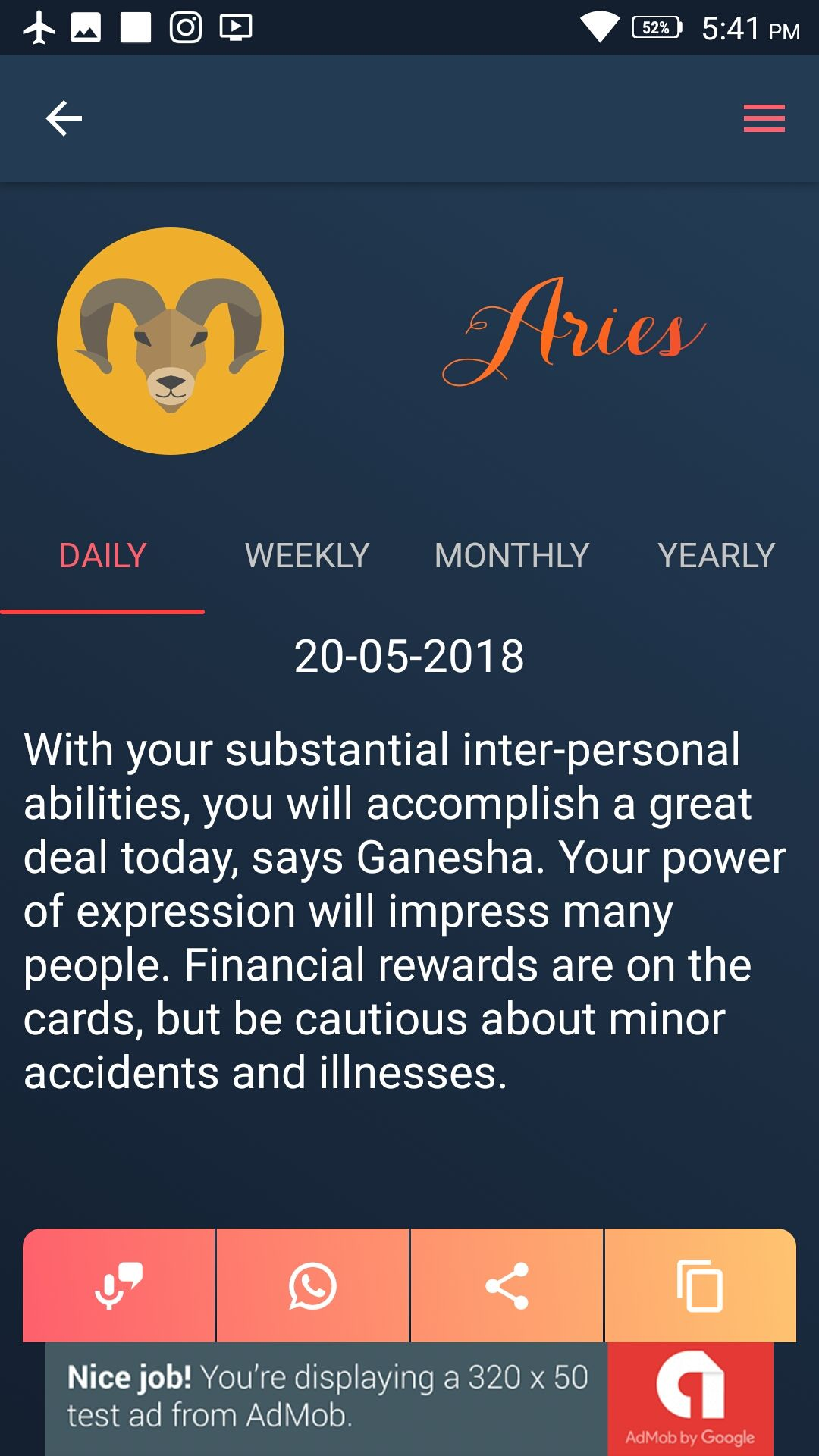 aries daily weekly monthly horoscopes