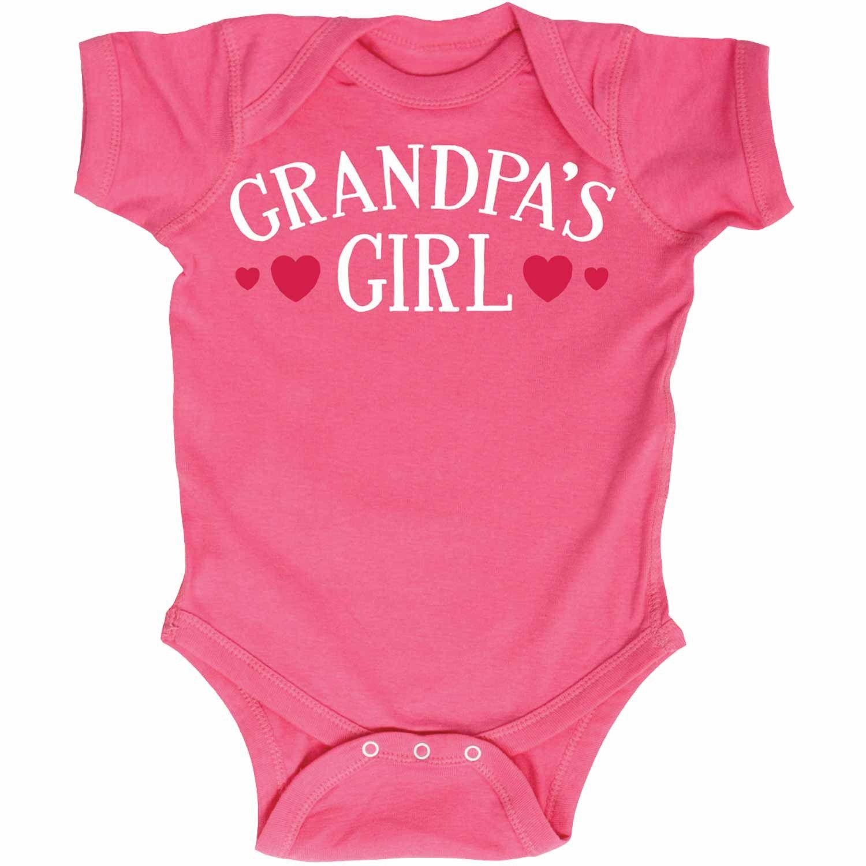 Grandpa s Girl Infant Baby e Piece Funny GrandpaShirts kids