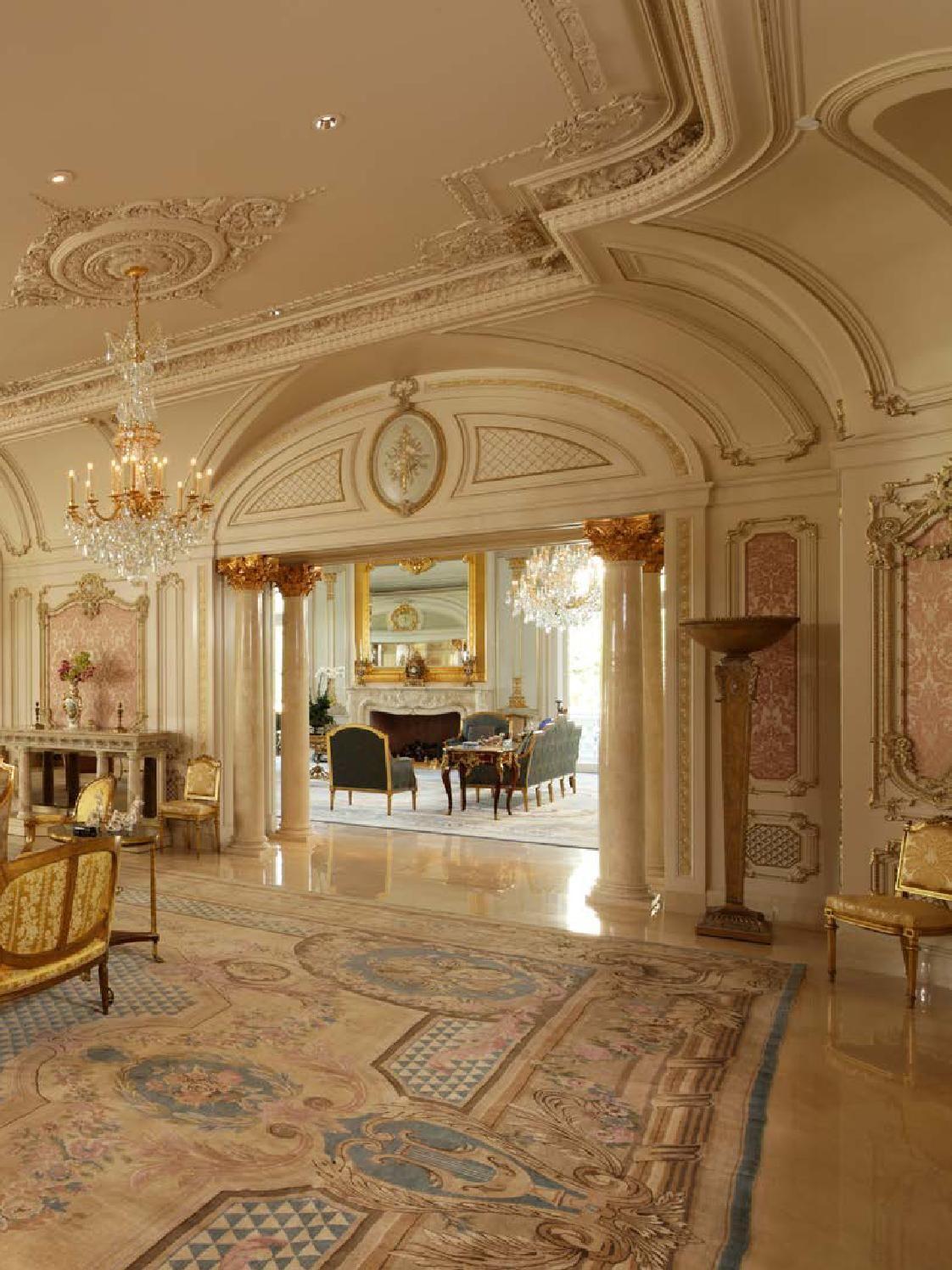 European Neo Classical Style Ii Luxury Mansions Interior