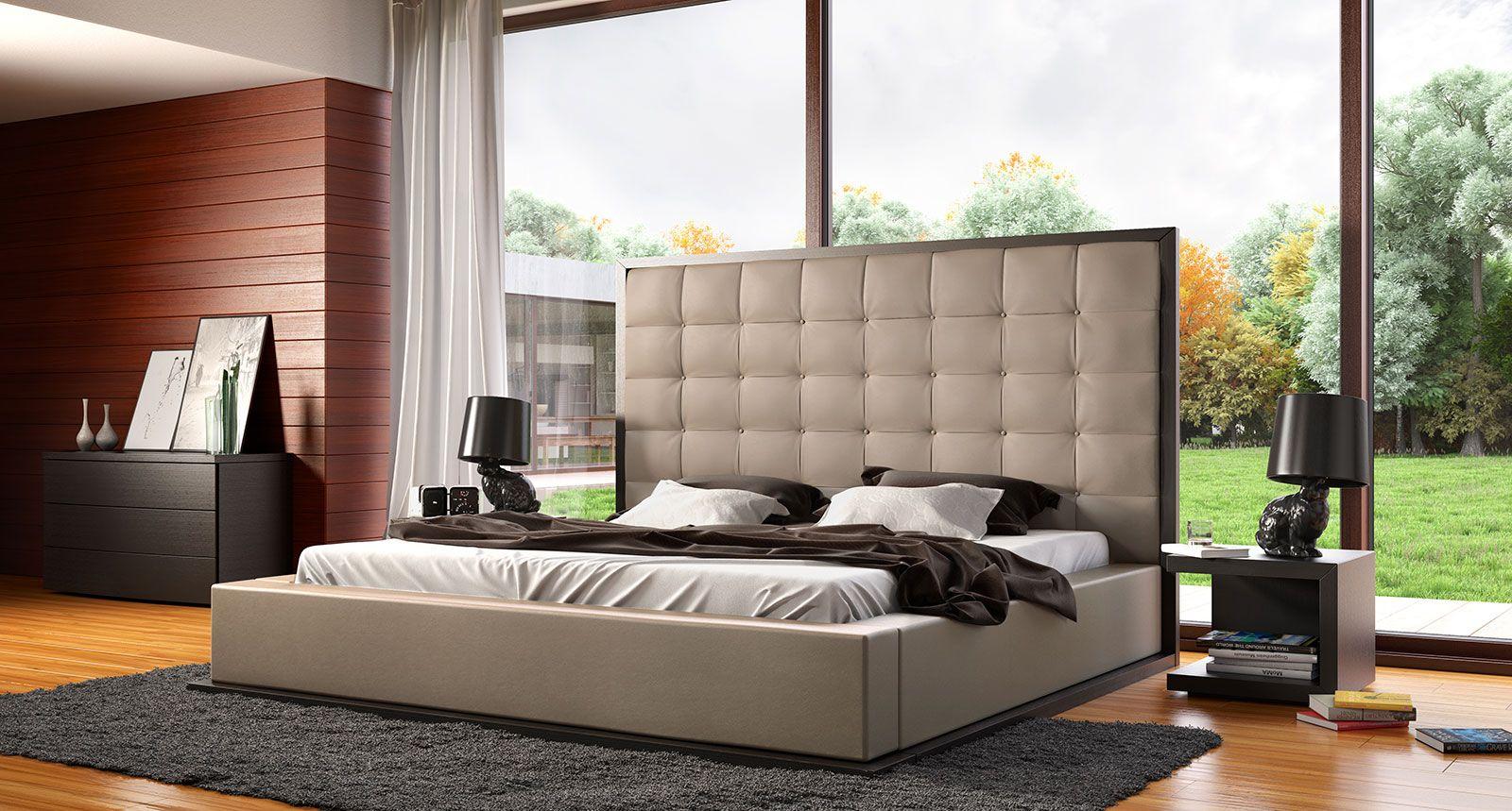 ludlow king bed platform bedroomplatform bedsmodern - King Size Bedroom Set For Sale Ottawa