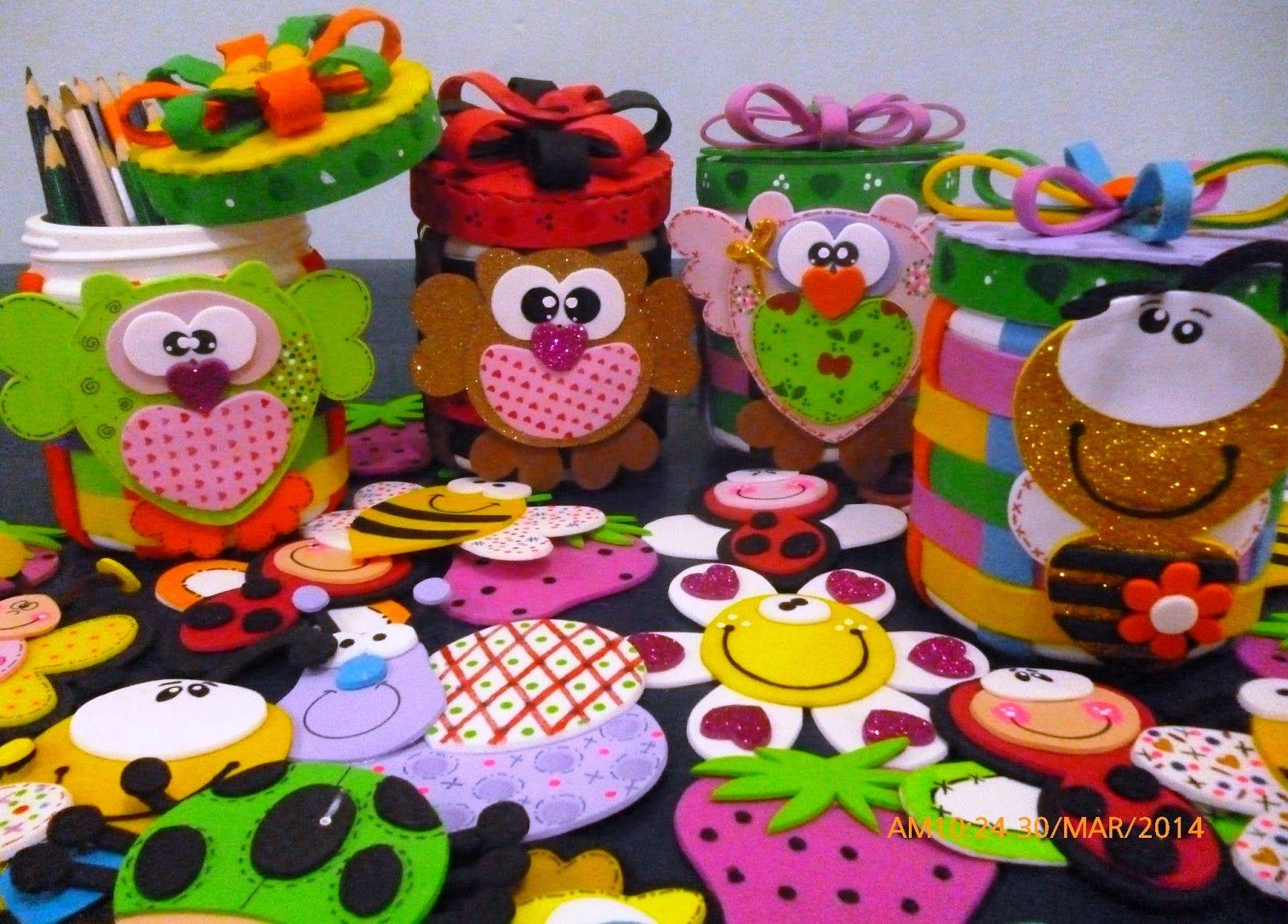 Cuchituras manualidades envases multiusos cuchi for Envases de vidrio decorados